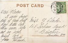 Family History Postcard - Clarke - Lyham Road - Brixton - London - Ref 1592A