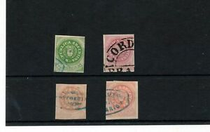 ARGENTINA Imperfs Used (4  Items) ZA 469s