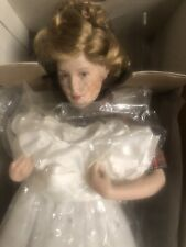 "Vintage Danbury Mint Norman Rockwell Porcelin Doll ""Prom Dress�. Nib"