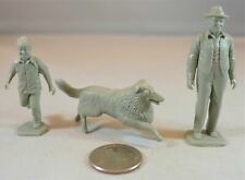 Marx Farm Characters Set With Lassie Jeff & Gramps