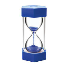 Large Sand Egg Hourglass Timer 5 Minute SEN ADHD ASD Teacher Cooking Blue
