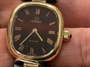 omega constellation woman's  Gold Mechanical Watch
