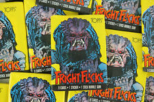 Fright Flicks 1988 Topps Set of 90 Trading Cards /& Sticker Set of 11 Cards