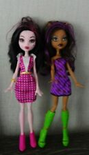 Monster High Doll Draculaura & Clawdeen How Do You Boo