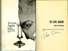 Robert Silverberg SIGNED AUTOGRAPHED To Live Again HC 1st Edition 1st Print HUGO