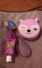 Pink Kitty mini zip Purse ,juicy watermelon gel & Purple holder. New Sealed