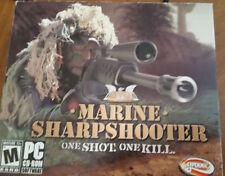 Marine Sharpshooter One Shot One Kill PC Game CD Rom