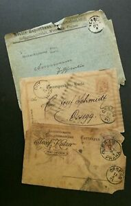 [SJ] Germany Correspondence Card 1894 USED