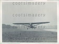 1930 Pride of Hollywood Plane Takeoff Los Angeles Reinhart Mendell Press Photo
