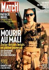PARIS MATCH*11/12/19*NEUF*MOURIR AU MALI*PATRICK BRUEL*ÎLE DU VICE*CHRÉTIENS TUÉ