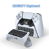 For PlayStation 5 PS5 Gamepad Portable Wireless Bluetooth V3.0 External Keyboard