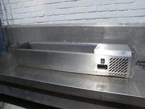 MKN Aufsatzkühlvitrine für 5 x GN 1/4 Tischgerät 230V