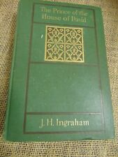 The Prince of the House of David by J.H. Ingraham Hardcover