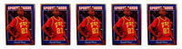 (5) 1992 Sports Cards #134 Harold Miner Basketball Card Lot USC