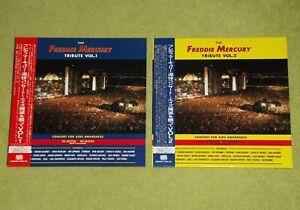QUEEN The Freddie Mercury Tribute Concert Volume 1 & 2 - JAPAN 2 x LASERDISC SET
