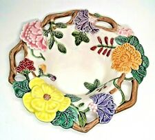 Fitz & Floyd 1995 Collector Plate Bowl with Flowers