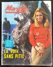 Photoroman Marielle n°97; Michel Sardou/ Mario de Sabato