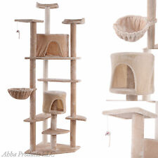 """LARGE 80"""" Cat Tree Condo Furniture Scratch Post Pet House Kitten Tower Perch toy"""
