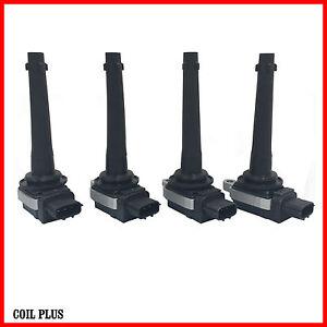 4x Ignition Coil for Nissan Tiida SC11 Tiida C11 1.8L X-Trail 2.0L MR18DE MR20DE