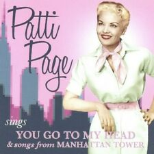 Patti Page - Sings You Go to My Head & Songs from Manhattan [New CD] Bonus Track