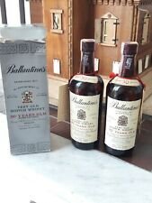 Whisky Ballantines 30 Anni  1976 2 Bottle One Box Beautiful condition