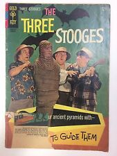 The Three Stooges #32 Comic Book Gold Key 1967