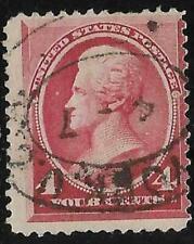 xsb168 Scott 215 US Stamp 1888 4c Jackson Used
