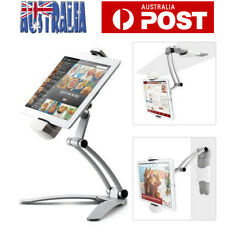 Universal Folding Tablet Mount Holder Stand 2 in 1 Desktop Wall Mount Lazy Stand