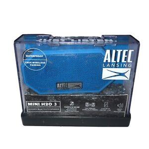 Altec Lansing Mini H20 3 Rugged Bluetooth Speaker IMW258-CB Cobalt Blue