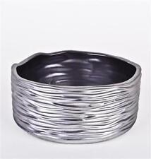 Floreros decorativos de cerámica color principal gris para el hogar
