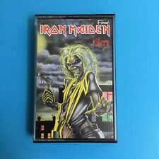IRON MAIDEN - Killers - RARE ORiginal 1981 Cassette Tape