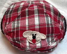 NEW GYMBOREE WINTER NEWSBOY GOLF HAT 0 3 MONTHS BOYS BABY NEWBORN INFANT RED