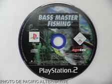 Jeu seul BASS MASTER FISHING sur playstation 2 PS2 loose francais pêche enfant