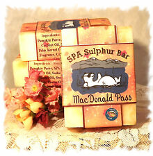 Indian Summer _MacDonald Pass SPA Sulphur Soaps Made in Montana Handmade Natural
