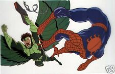 Spider-Man Animation Cell Print vs Vulture