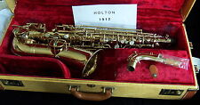 Vintage Holton alto sax, 1912 collector item