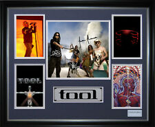 Tool Signed Framed Memorabilia