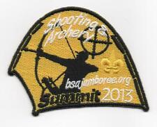 2013 National Jamboree Promo Tent Patch Series, Shooting & Archery, Mint!