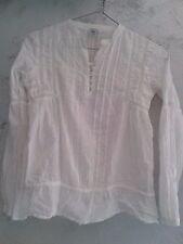 "Camicia Bambina ""Coreana"" Bianca Zara 9/10 anni 140 cm Originale Occasione"