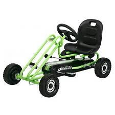 hauck lightning pedal go kart race green