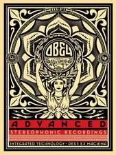 Lotus Woman SHEPARD FAIREY Advanced Stereophonic Recordings OBEY GIANT