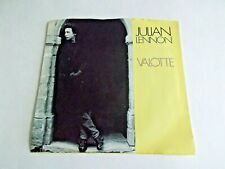 Julian Lennon Valotte / Well I Don't Know 45 1984 Picture Sleeve Vinyl Record