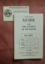 St Joseph 2021 Guide For The 4-Volume Liturgy Of The Hours By Catholic Book Publ