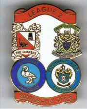 2008 League 2 Play-off ~ Darlington, Stockport Co, Wycombe Wanderers & Rochdale