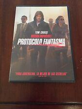 MISION IMPOSIBLE PROTOCOLO FANTASMA - ED 1 DVD COMO NUEVO ECONOMICO TOM CRUISE