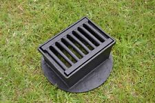 23 x 32,5 cm DRAINAGE Gully Clark Drain Cast Iron Manhole Cover Inspection KS002