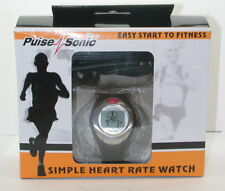 Pulse Sonic Simple Heart Rate Watch In Box R11567