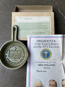 Sperry New Holland Cast Iron Frying Pan Ash T Belleville Foundry w/Presidential