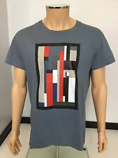 Dior Men's T Shirt, Size XL, Blue, Slim Fit, Immaculate Condition