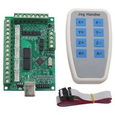 2X(5 Axis Mach3 Cnc Breakout Board 1000Khz Usb Cnc Motion Control Card N7M9)